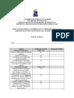 2 - ASPECTOS QUE SERÃO CONSIDERADOS NA AVALIAÇÃO DOS TRABALHOS.docx