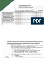 Registro y Control de Asistencia Formato 1
