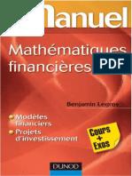 Mini manuel de mathématiques financières