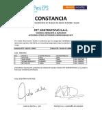 Constancia Conjunta