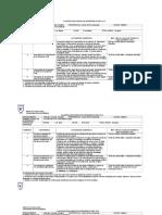 Planificación Semestral II Medio