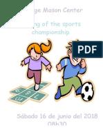 Clausura de los deportes 2018.docx