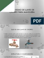 Mecanismo de llaves de chorro para manguera.pptx