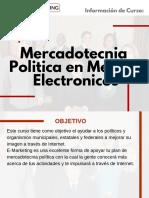Curso de Mercadotecnia Politica en Medios Electronicos