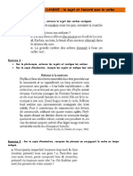 EVALUATION de LANGUE - 6ème - Le sujet et son accord.docx