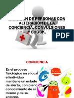 Atención de Personas Con Alteración de La Conciencia.pptx
