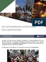 2.-Los 10 Problemas Ambientales Mas Apremiantes (Feb.18)
