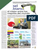 El tiempo - biodiesel Colombia