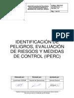 SSO-P-01 Identificación de Peligros, Evaluación de Riesgos.docx