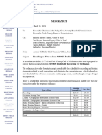 Fiscal Impact Note on Item 19-0855