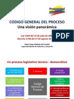 Código General Del Proceso - Una Visión Panorámica