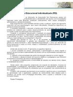 Modelo Programa Educacional IndividualizadoPEI