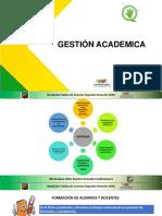 Gestion academica 2019