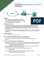 7.2.5.3 Lab - Identifying IPv6 Addresses.docx