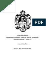 MENORES INFRACTORES, DERECHO DE FAMILIA. CUBAS MERA.docx