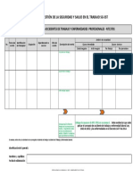 Descargar Formato Reporte Escrito Información de Un Incidente de Trabajo, Accidente de Trabajo y Enferemedad Laboral