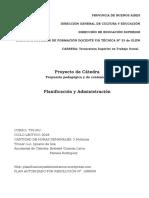 Proyecto de Catedra Planif y Administr 2018