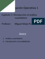 1 Introducción Al Análisis Cuantitativo