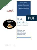 Brief Publicitario Barra de Cereal Energ