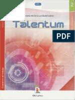 Talentum - Maximo de La Cruz Solorzano - Cuaderno de Trabajo 2do Año de Secundaria - Matematicas