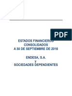 Estados Financieros ENDESA 9M 2016 (1)