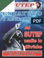 sutep - ESTATUTO