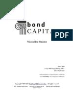 Bond Capital Mezzanine Finance