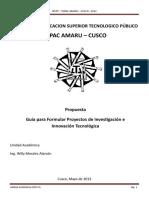 GUIA PROYECTOS DE INVESTIGACION E INNOVACION TECNOLOGICA.doc