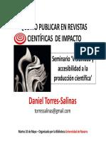 Como Publicar en Revistas Cientificas de Impactos