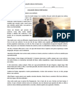 aVALIAÇÃO 6 º ANO ZERBINI CRONICA.docx