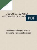 Unidad 0 7 y 8 La Historia y Sus Métodos