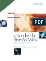 Unidades de Filtracion Millex
