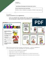 Guía - Texto Intructivo. Los Reglamentos