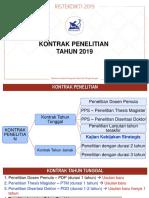 Penjelasan Teknis Kontrak Penelitian 2019.pptx