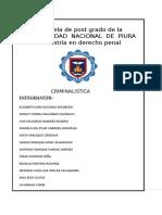 Trabajo de Criminalistica- Grupo 01