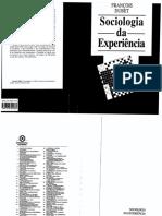 Dubet Sociologia da Experiência.PDF