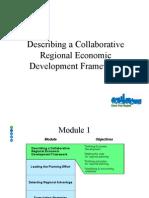 Describing a Collaborative Regional Economic Development Framework