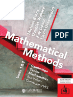 VCE Mathematical Methods 1&2