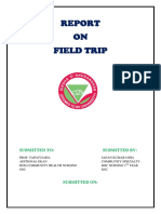 Report of feild trip to OMFED.docx
