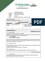 SESIÓN DE APRENDIZAJE de desarrollo personal  2.docx