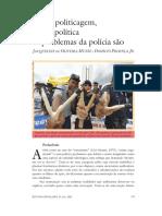 Muita politicagem, pouca política os problemas da polícia são.pdf
