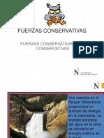 7.1 Fuerzas Conservativas-Conservación de Energía