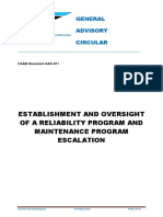 GAC-011_Establishment and Oversight of a Reliability Program and Maintenance Program Escalation