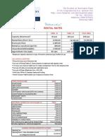 Skydeck 2017 Rental Rates