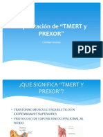 Capacitación de Tmert y Prexor.