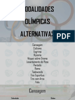 Modalidades Olimpicas Alternativas (1)