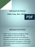 MENGATUR POSISI - ZUHDI