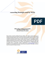 Marketing Strategies Used by NGOs