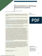 Association of Antipsychotic Polypharmacy
