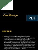 Case Manager Presentasi